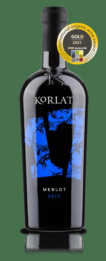 Korlat Merlot 2017. fotografija boce