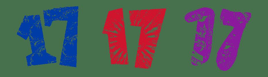 Korlat 17 logotipi: Merlot, Syrah i Cabernet Sauvignon