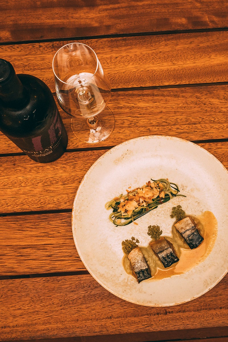 Korlat Cabernet Sauvignon 2017 gerich by chef David Skoko